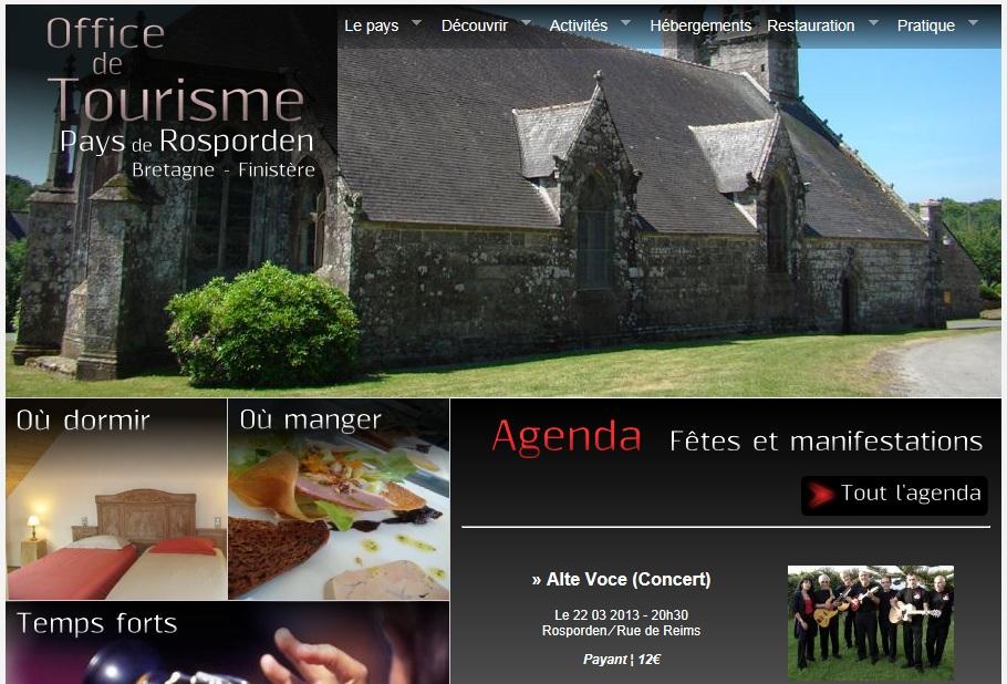 Office de tourisme bretagne cornouaille oc an mairie elliant - Office du tourisme de grande bretagne ...