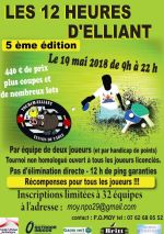19 mai 12h d'Elliant Tennis de table