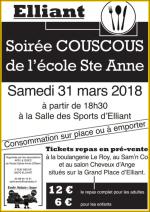 31 mars – Couscous de l'école Ste Anne